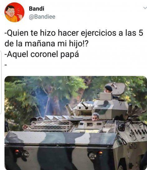 Marito en memes: Te creo, pero mi tanque, no