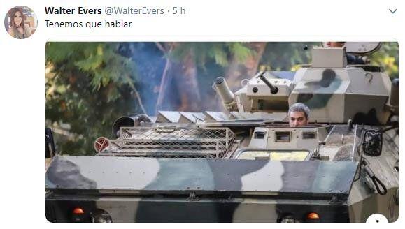 Marito en el tanque causa furor con memes