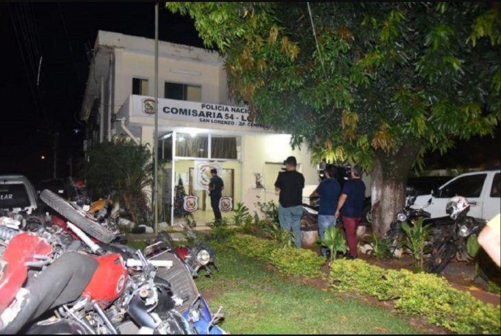 El detenido quedó a disposición de la Fiscalía en la comisaría 54 de Lote Guazú