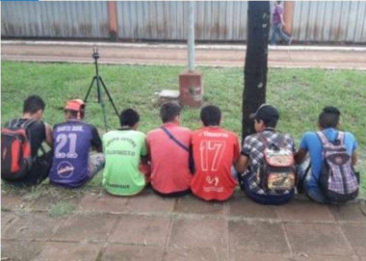 Los jóvenes expresaron sus deseos de servir a la patria