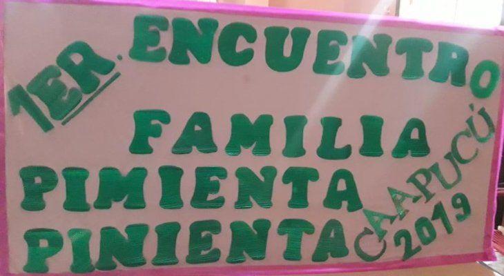 La familia Pimienta se dio el gusto y se juntó