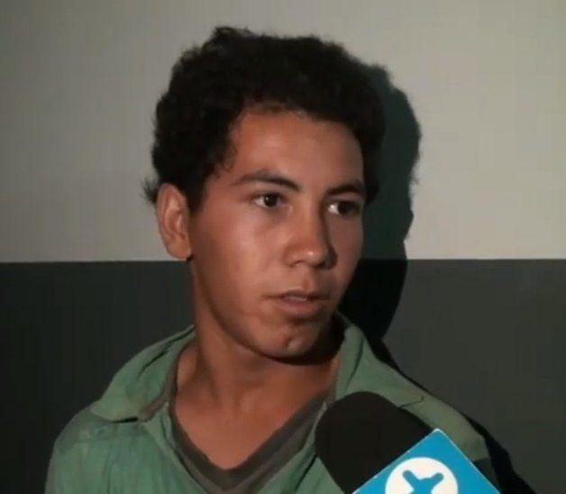 El joven quedó detenido y fue imputado.