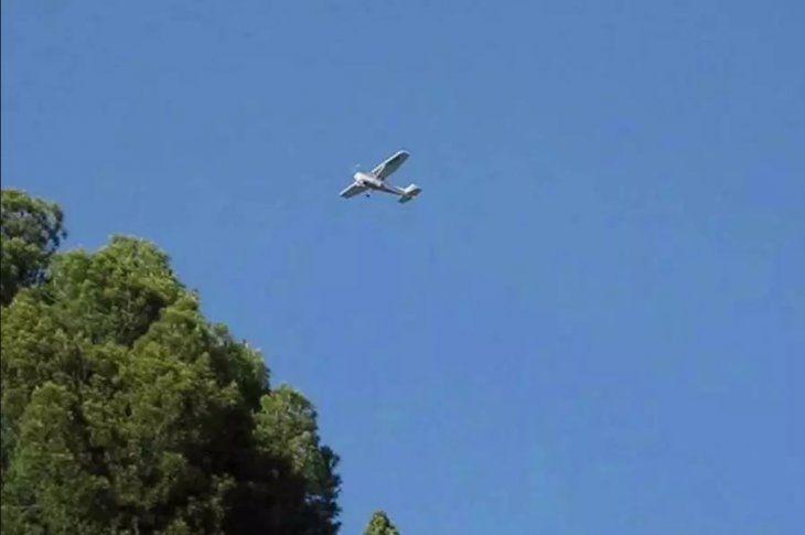La avioneta habría caído en la zona de Cerrito