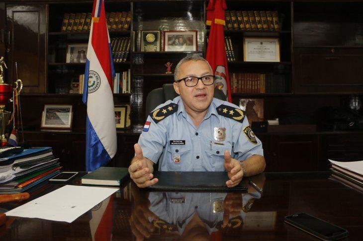 Comisario Gral. Inspector Milciades Ocampos