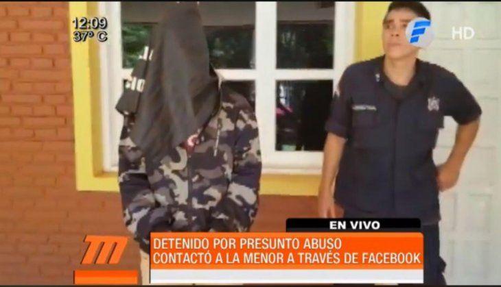 El detenido quedó a cargo del Ministerio Público.
