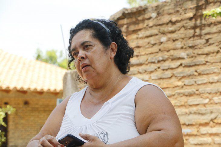 Doña Mirian contó que siempre le advirtió a Romina sobre su relación.