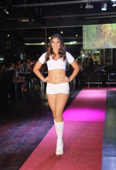 Fabi Giménez Sus padres la apoyan para que cumpla su sueño de ser una reconocida modelo.