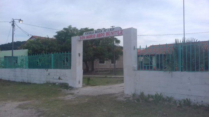 Así luce la nueva entrada a la institución.