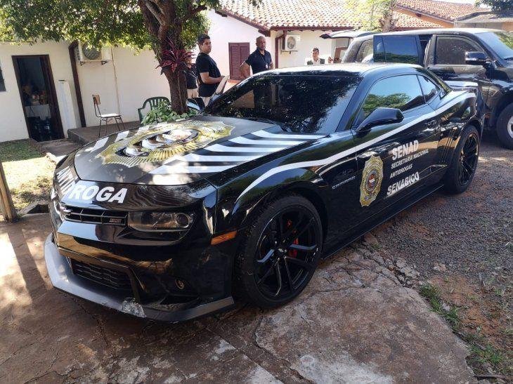 Usarán lujoso auto de Cucho para combatir el narcotráfico en Encarnación