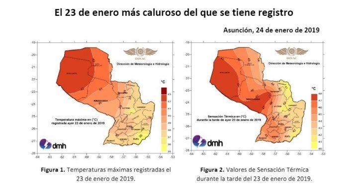 Calor extremo supera los récords este año