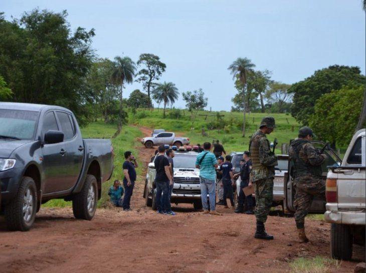 El enfrentamiento ocurrió en la frontera con el Brasil.