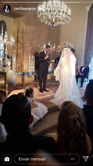 La boda de Juanpi fue oficiada por el pastor Emilio Agüero Esgaib