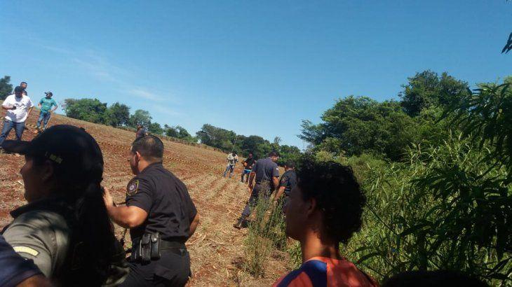 Katueté: Hallan dos cadáveres que serían de Mía y su niñera