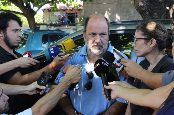 El forense Pablo Lemir explicó que no se pudo determinar la causa de muerte de ninguna de las víctimas.