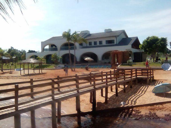 Balneario de la Quinta Nápoles de Cucho abrió sus puertas al público hoy