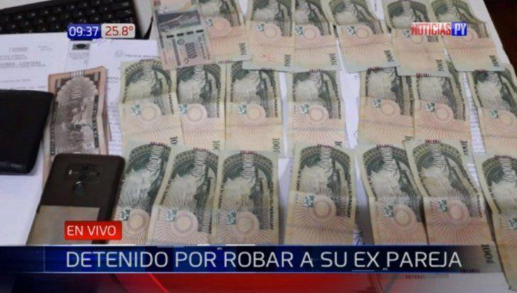 Mujer denunció a su ex por robarle la liquidación de su salario