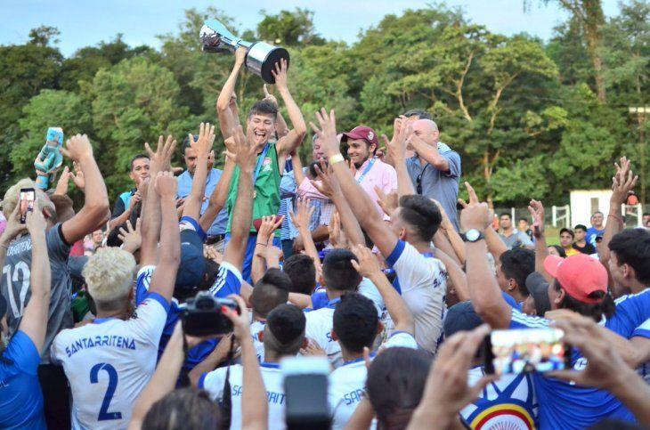 Santa Rita es el seleccionado campeón del Interligas Sub 17.
