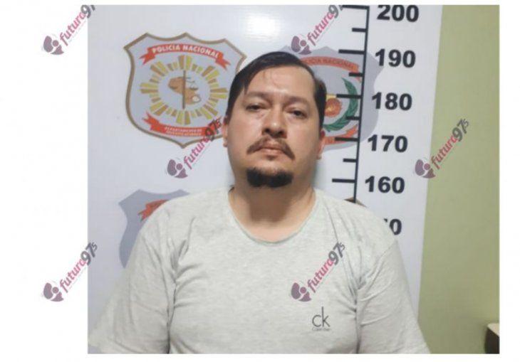 Junior Arnaldo Sánchez (34) quedó detenido después de tres años después de estar prófugo por estafa.