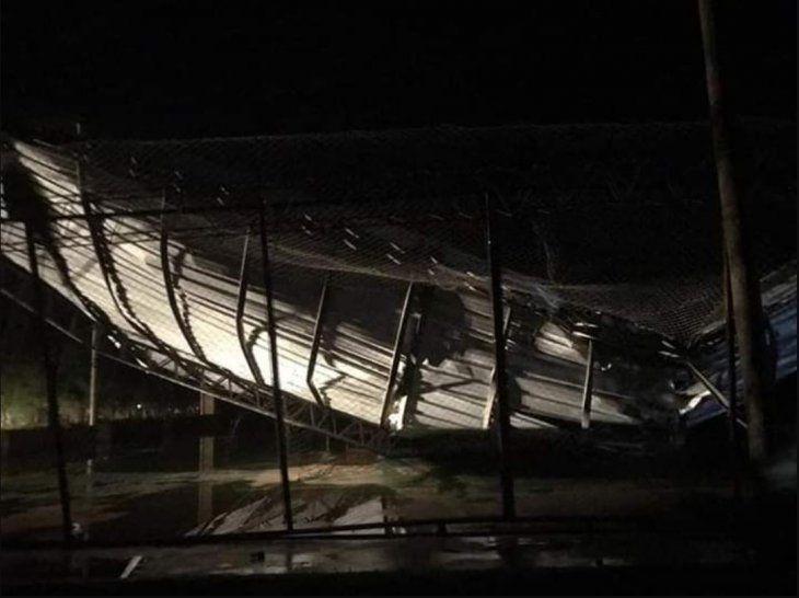 Tornado destechó doce casas y dos tinglados en Filadelfia