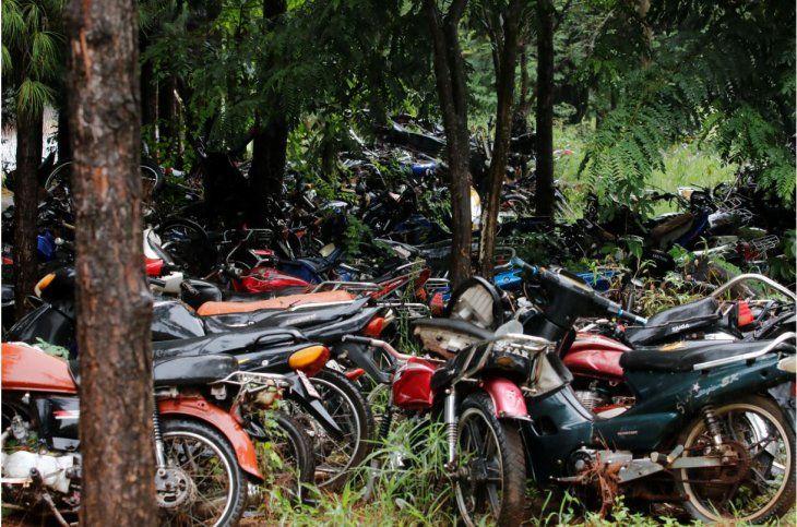 Caminera busca rematar motocicletas incautadas