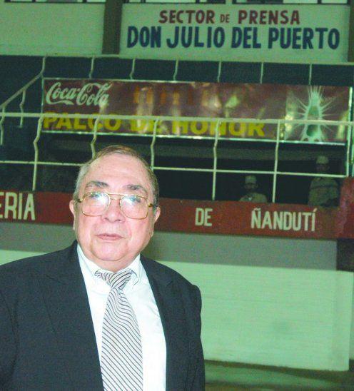 Falleció Julio del Puerto