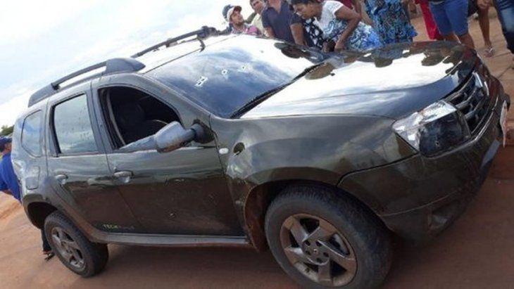 Balacera termina con un muerto en la frontera