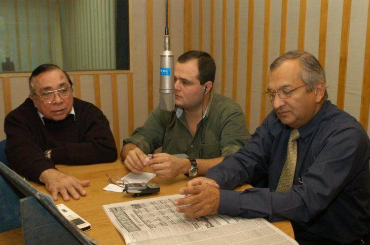 Julio del Puerto estuvo desde los inicios de radio Cardinal y se retiró en el 2006.
