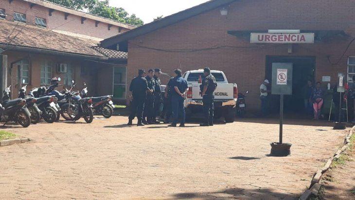 Policía salió de su guardia y lo atacaron a tiros, está grave