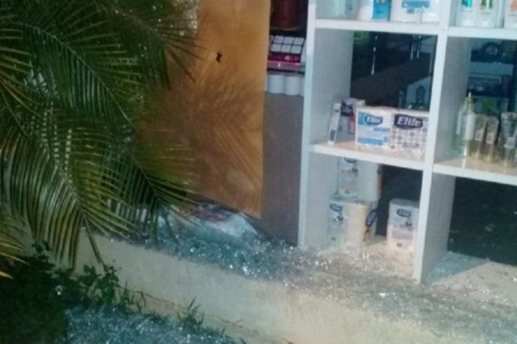 Hermana de Urbieta: Lanzaron a nuestra farmacia bombas molotov