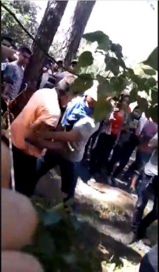 Violento bautismo en una facultad de Coronel Oviedo