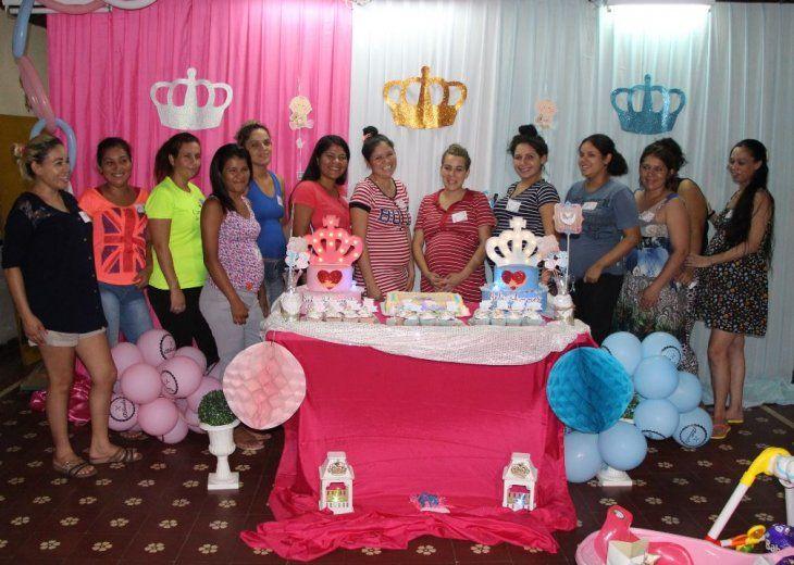 Por primera vez realizaron un Baby Shower en el Buen Pastor