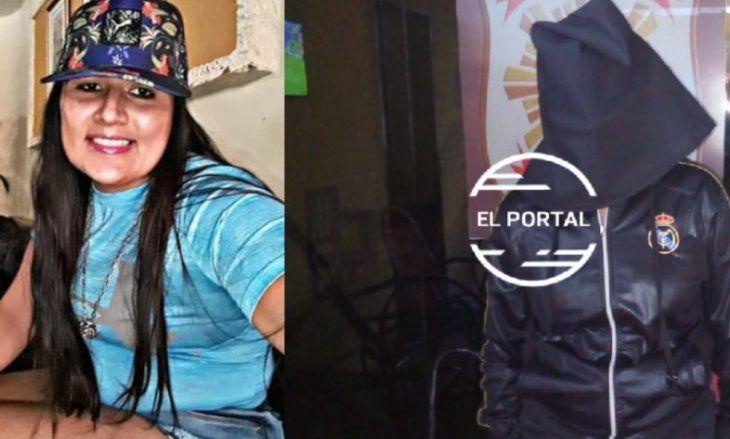 DETENIDA. Nuvia Alice Alvarenga Núñez