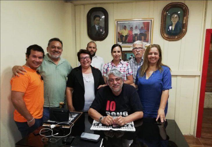 Ayer se reunieron en Lugo Róga