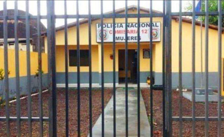 Las mujeres están detenidas en la comisaría de mujeres de Amambay.