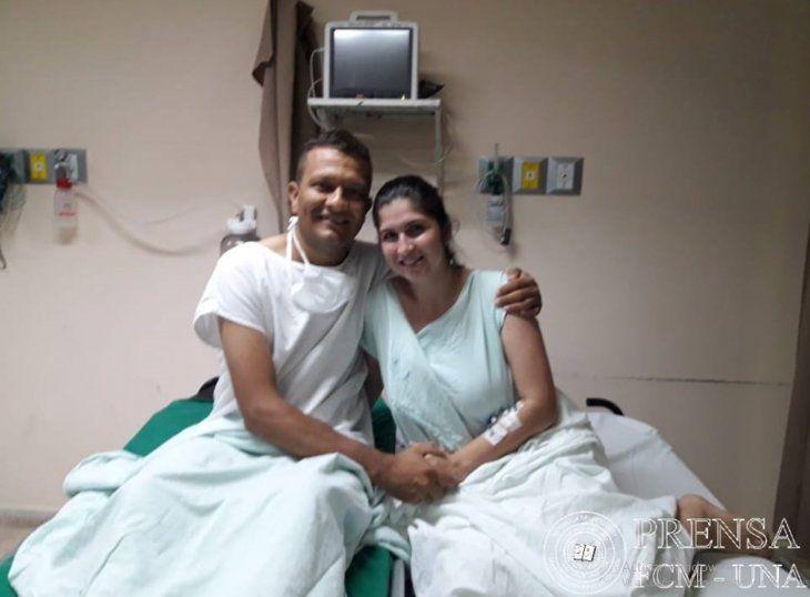 Por amor, mujer donó un riñón a su esposo