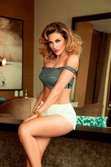 Aracely Arámbula compartió video sexy