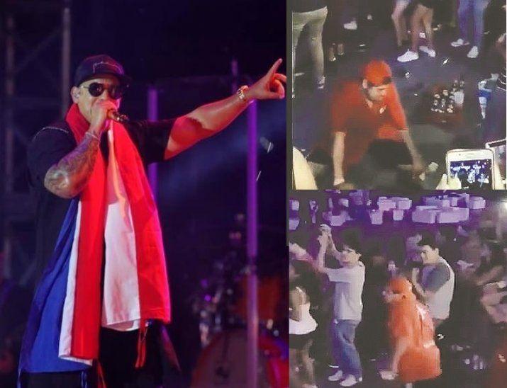 Randy Roa demostró su talento en el concierto de Daddy Yankee y fue el centro de atención por unos minutos