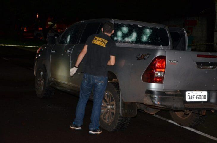 El ataque se produjo a pocos metros de la frontera con Pedro Juan Caballero.