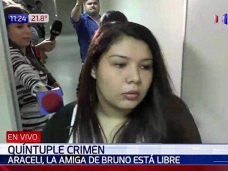 Quíntuple homicidio: Araceli quedó libre