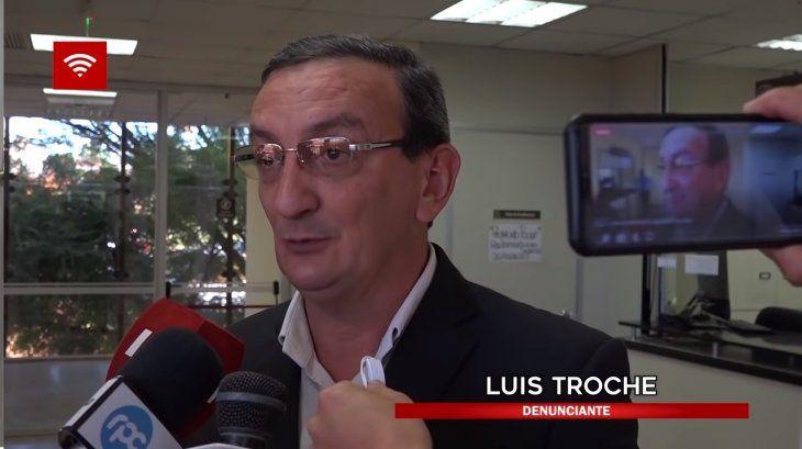 El abogado Luis Troche