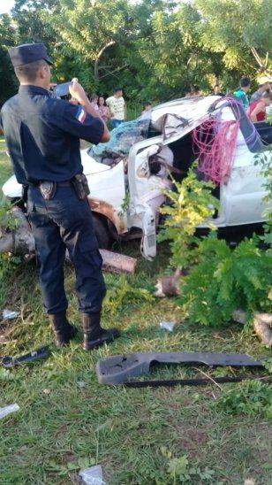 Mueren tres en terrible vuelco en Yby Yaú