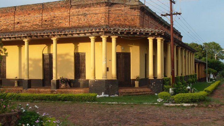 Una de las casas que el grupo defensor busca proteger.
