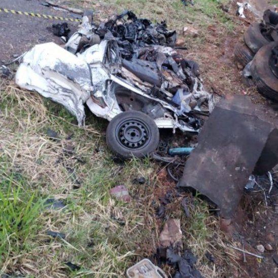 Dos fallecidos tras accidente rutero