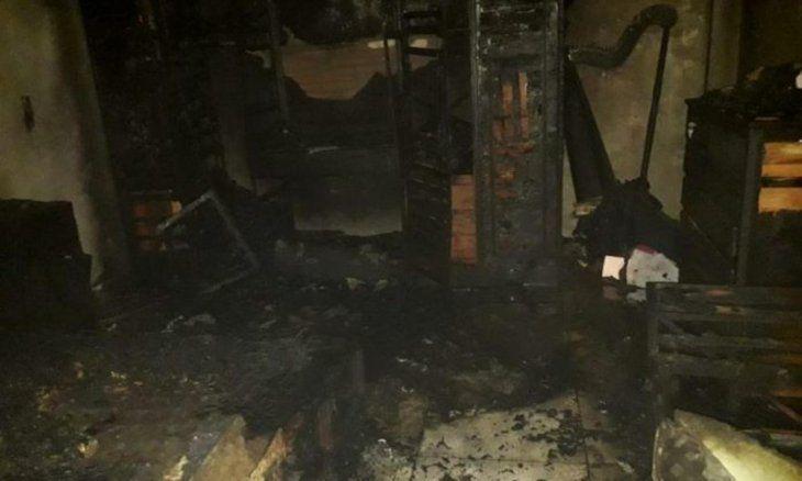 Despechado quemó la casa de su exseñora