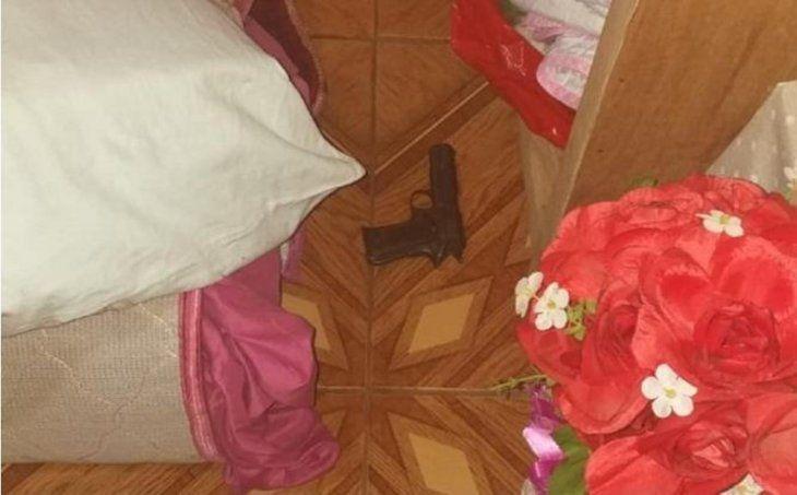 Doña murió de un balazo al cambiar la sábana