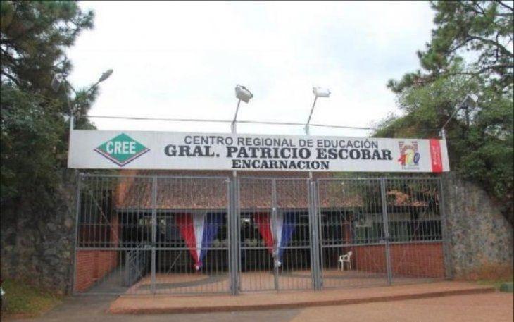El hecho ocurrió en el Centro Regional de Educación Gral. Patricio Escobar de Encarnación.