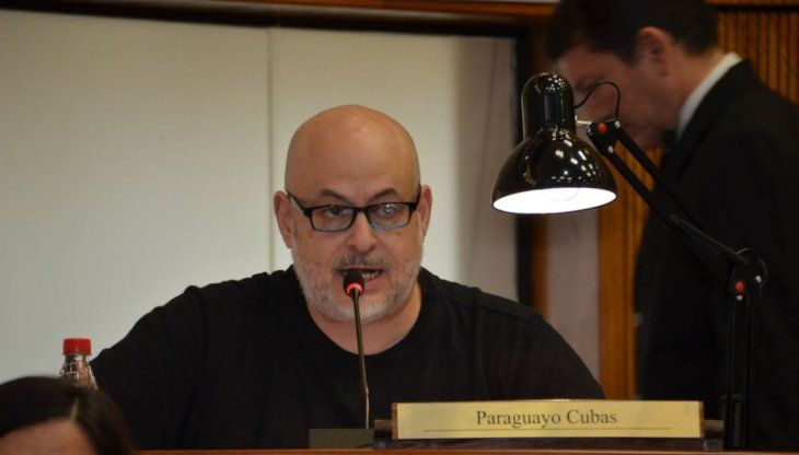 Paraguayo Cubas hizo de las suyas en el Congreso.
