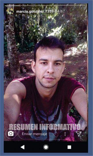 Arnaldo Sosa quedó detenido luego de sacarse esta selfie.