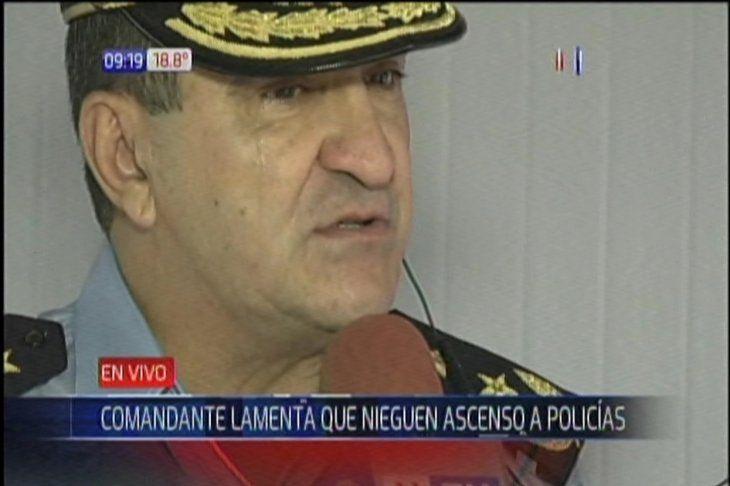 Comandante de la Policía Nacional