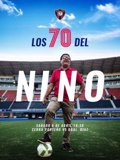 Los 70 de Nino se festejan.